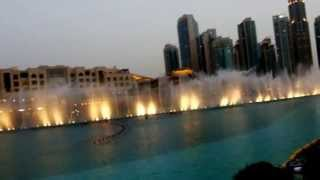 Prastin dubai mall fountain show
