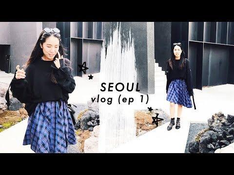 🌇 Recharging, slowing down, working less, & smiling more | Seoul travel vlog ⓵