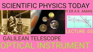GALILEAN TELESCOPE /CLASS 10+2/A K AMAN /SPT PHYSICS