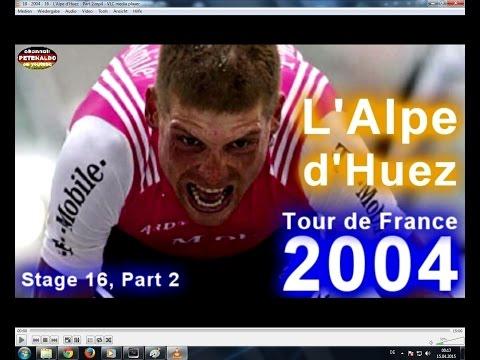 Jan Ullrich ► TdF 2004 ► Stage 16 ► L'Alpe d'Huez - PART 2 [21.07.2004]