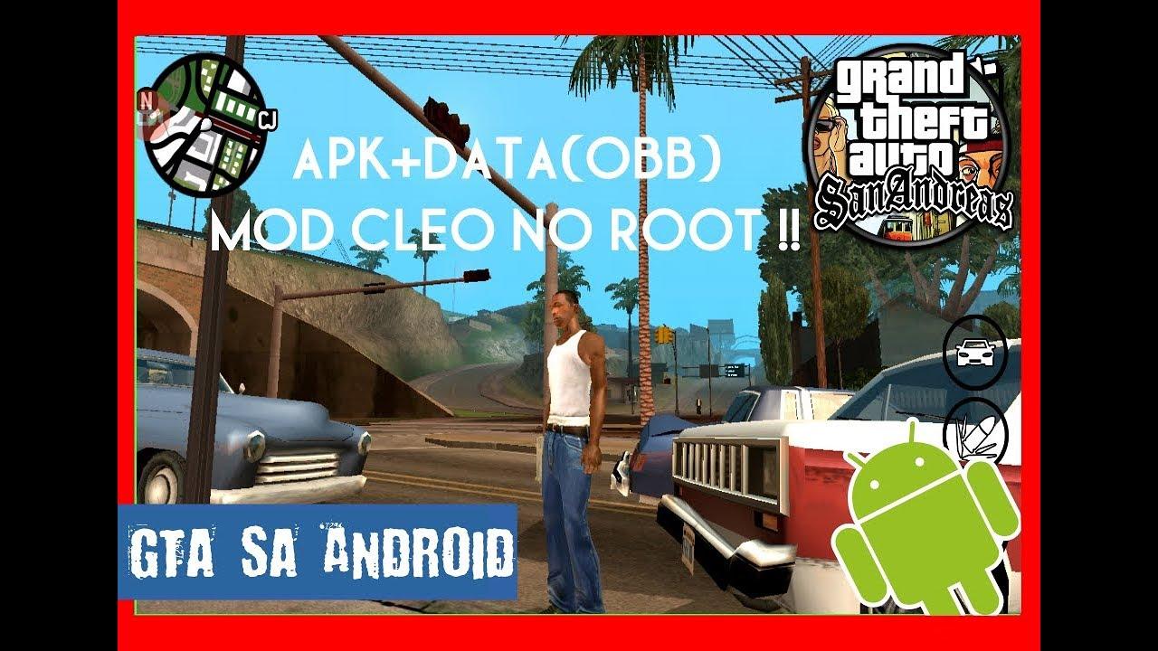 Gta sa android cleo no root 1 08 | Tutorial Cara Cheat Cleo