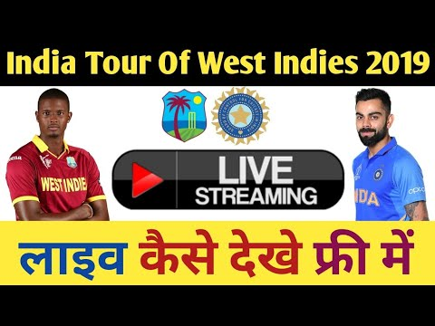 India Vs West Indies 2019 Live Streaming & Telecast Details