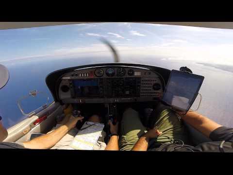 DA40 IFR Training over Oahu