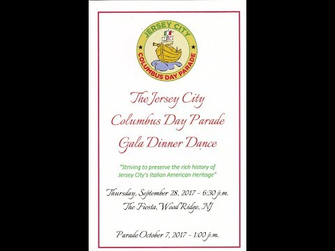 2017 JC Columbus Day Parade Gala Dinner Dance 9-28-17