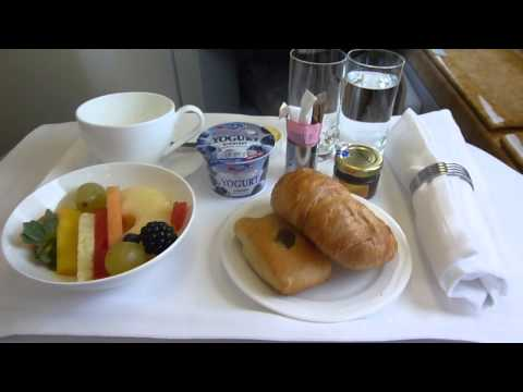 Emirates A380 Dubai To Amsterdam Business Class
