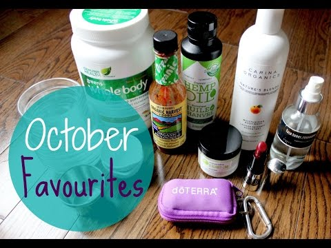 Healthy October Favourites | Skincare, Organic Foods & Fashion