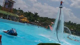 Biển diễn Jet-ski &Fly-board lần đầu tiên xuất hiện tại Việt Nam ở khu Dulịch Đại Nam!!!