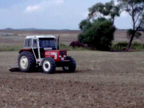 Turk Fiat 70-66 DT sowing oats & 80-66 DT rolling  ...Turkey