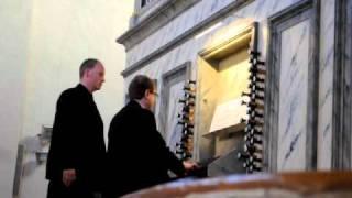Toccata d moll BWV 565, varhany U Salvátora