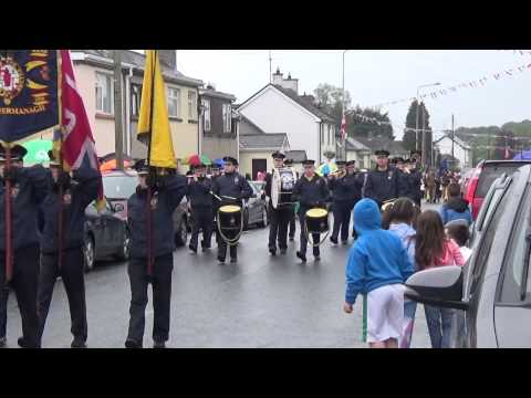Magheraveely Flute Band @ Brookeborough District Parade 2015