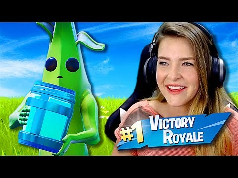 NERF THE BANANA! Squads w/ Asivrs, Actionjaxon, sparkles (Fortnite: Battle Royale) | KittyPlays