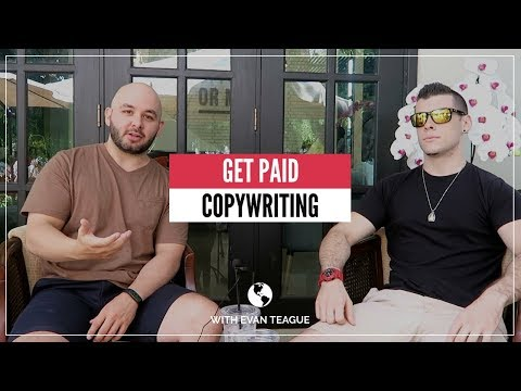 MAKING MONEY as a COPYWRITER with Evan Teague