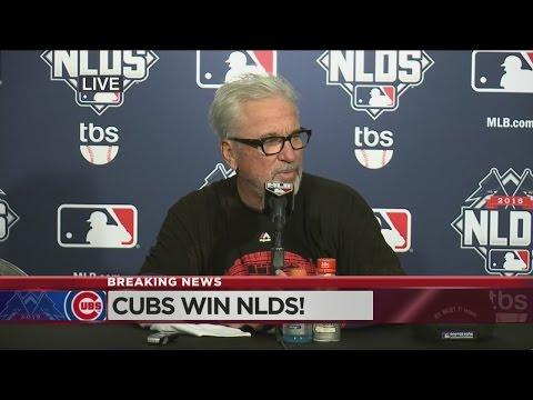 Joe Maddon On Cubs NLDS Series Win