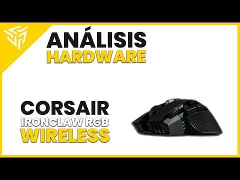 Corsair Ironclaw RGB Wireless REVIEW - ¿El ratón inalámbrico
