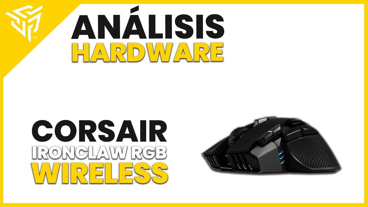 Corsair Ironclaw RGB Wireless REVIEW - ¿El ratón inalámbrico definitivo?
