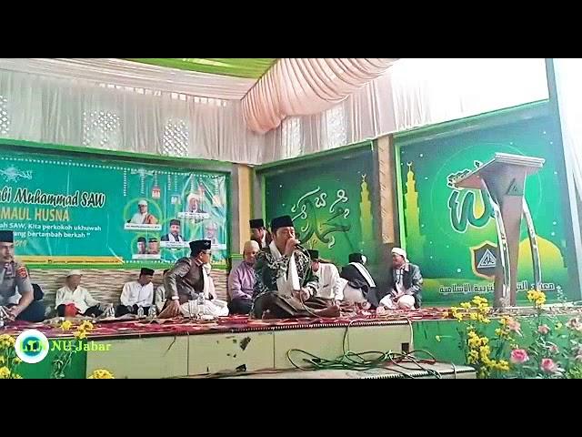 Qiroah Al-Qur'an merdu  Membuka acara Maulid Nabi Muhammad SAW di Ponpes Attawazun Kalijati Subang