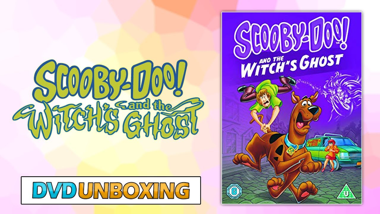 Scooby Doo And The Witch S Ghost Slipcover Dvd Unboxing Youtube
