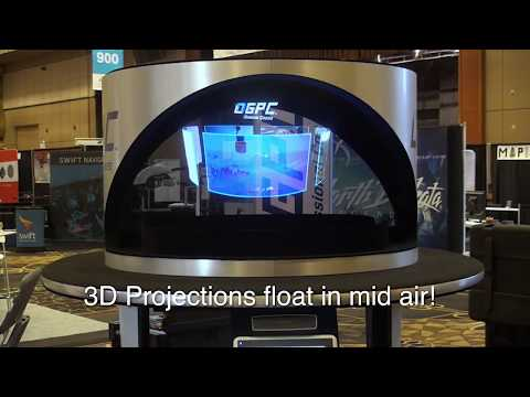 Holographic Trade Show Exhibits · Custom Holographic Trade Show