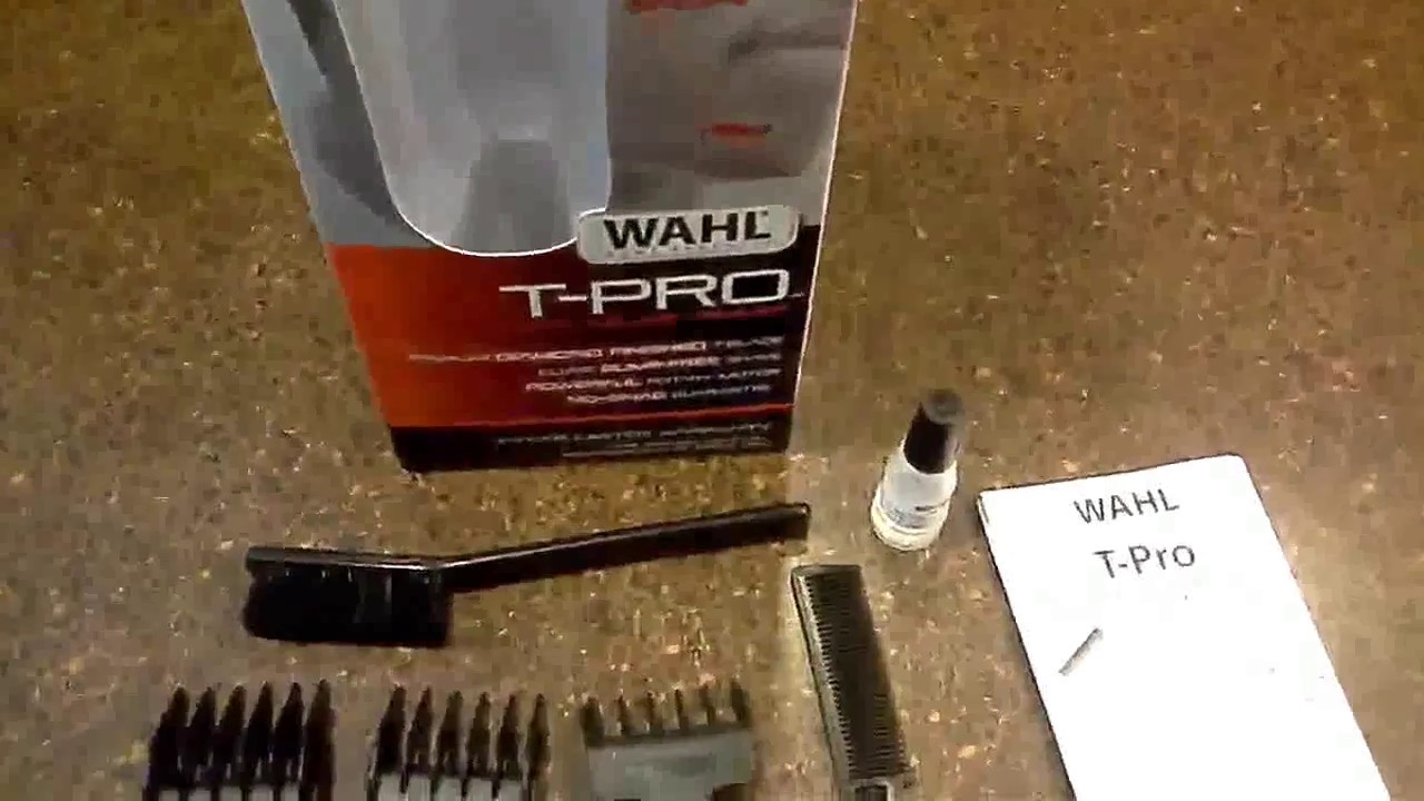 Wahl T-Pro Trimmer #9307-300 [Review & Unboxing]