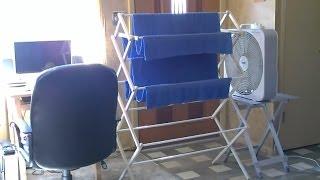 محلية الصنع Evap./مستنقع برودة الجو - DIY تكييف (تبريد الهواء) - التكنولوجيا منخفضة. فعالة جدا!