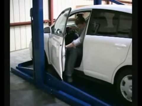 Elevador para autos bend pack en lfsa youtube - Garajes para coches ...