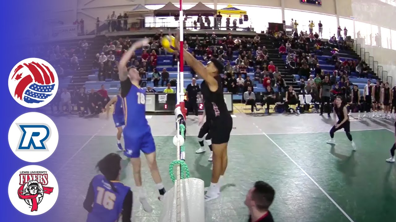 Ryerson Rams vs. Lewis Flyers - FULL | CanAm Volleyball 2019