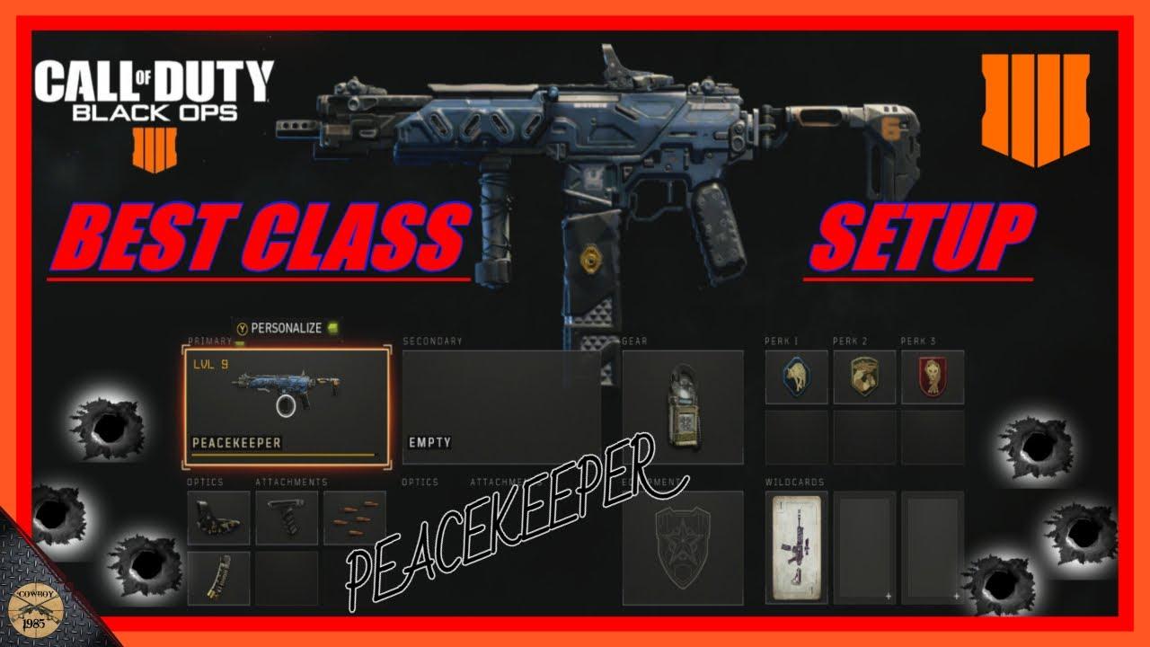 Bo4 Class Setup