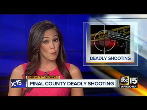 PCSO: 1 dead after shooting in Pinal County