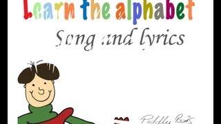 Children's English alphabet song and lyrics .....    ....Kid's ABC song