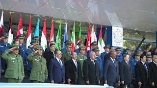 إحياء الاحتفالات الرسمية بعيد الشرطة العربية في الجزائر