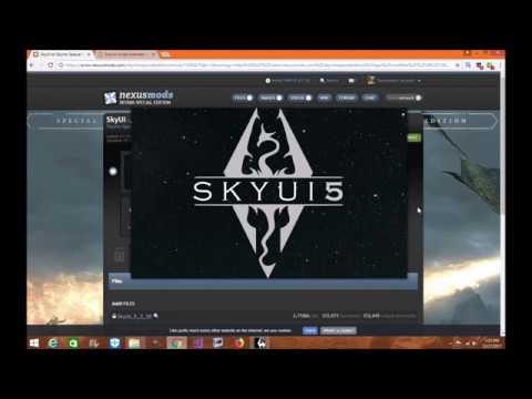 Skyrim SE: SkyUI And SKSE64 Mod Organizer 2 Installation Tutorial
