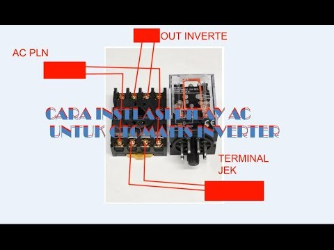 Cara Membuat Inverter Otomatis Menggunakan Rilay Ac Youtube