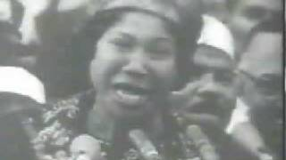 Mahalia Jackson Mlk Washington march