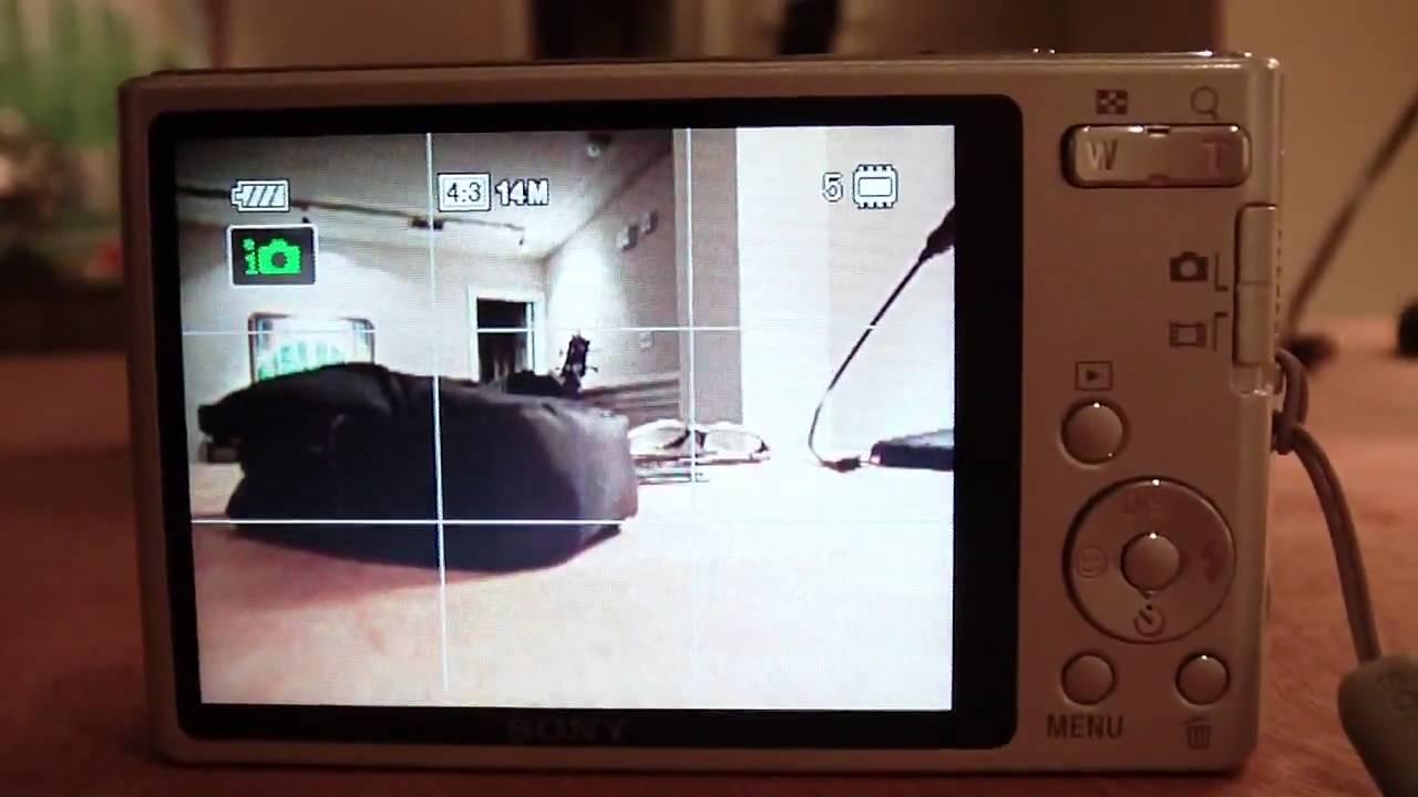 Sony cybershot w330 manual.