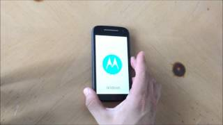 Como resetear a modo fabrica el Motorola Moto E 2nd Gen - Hard Reset