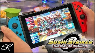 Nintendo Switch Sushi Striker: The Way of Sushido Event at YO Sushi!
