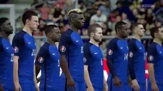 [HD] France vs Islande Euro 2016 03/07/2016 Fifa 16 FR 1080p60