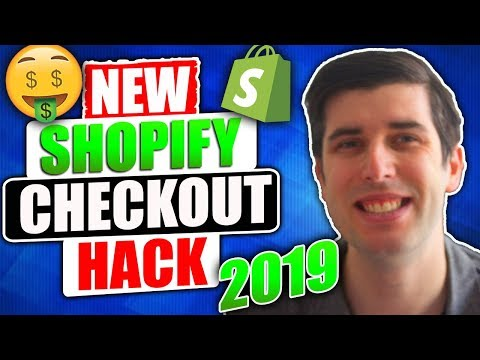 NEW FREE SHOPIFY CHECKOUT HACK 2019 | SHOPIFY DROPSHIPPING | CONVERSION PIRATE thumbnail