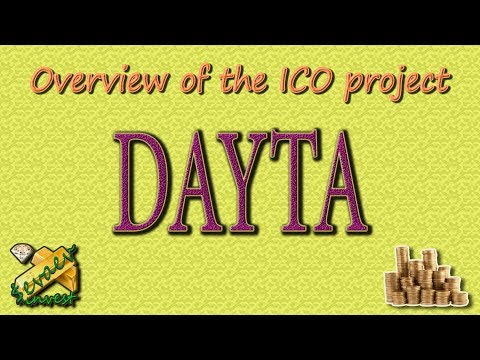DAYTA / ICO Overview Of The Company.
