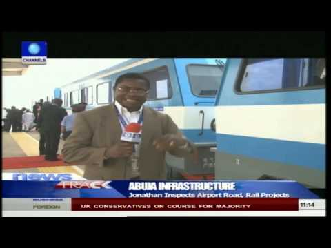 Abuja Infrastructure Jonathan Seeks Completion Of Ongoing Projects 08/05/15