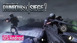 RAINBOW SIX SIEGE MOBILE COPY - iOS / Android - FIRST GAMEPLAY