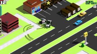 Massive Vehicles: Garbage, Red, Blue, and Green Truck and Mr. Massive   Smashy Road Gameplay