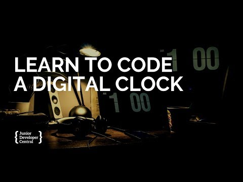 Learn To Code A Digital Clock With JavaScript thumbnail