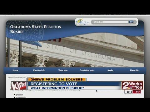 Registering To Vote - Public Information Online