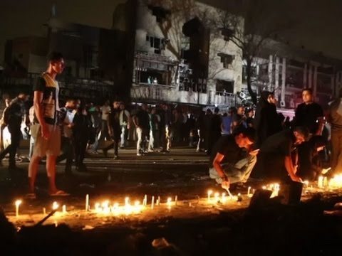 Iraqis Vent Anger And Blame Over Baghdad Bombing That Killed At Least 157