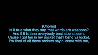 War Of Change - Thousand Foot Krutch [lyrics]