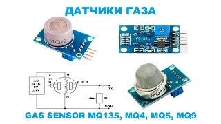 Common Gas Sensor Module Kit w/ MQ-2 / MQ-3 / MQ-7
