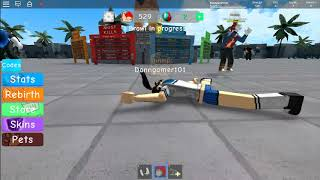 (ROBLOX) YAN-CHAN GETS BEAT UP.
