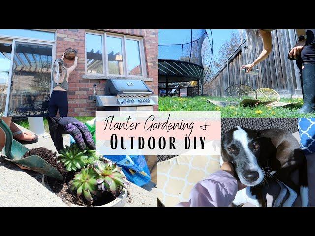 Hanging Planter DIY | Garden With Me