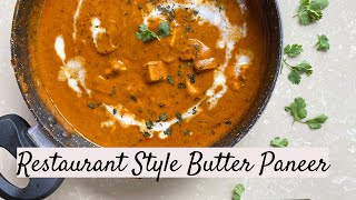 BEST EVER BUTTER PANEER - SMOKED